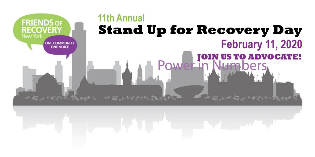 11th Annual Stand Up for Recovery Day Facebook Cover